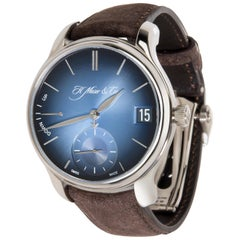 H. Moser & Cie. Endeavour Perpetual 1341-0207 Men's Watch in 18 Karat White Gold