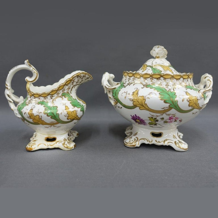 H & R Daniel Tea/Coffee Service In Excellent Condition For Sale In London, GB