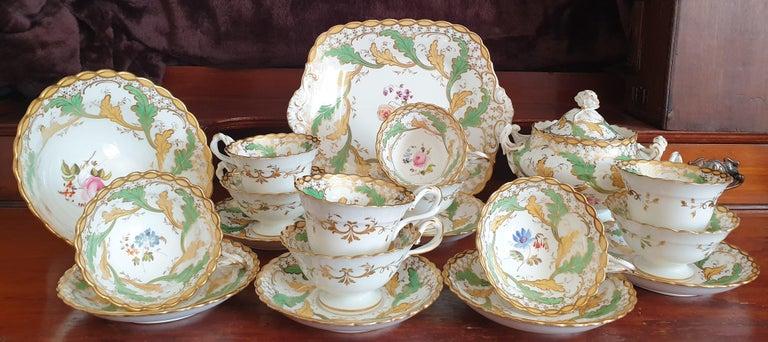 Early 19th Century H & R Daniel Tea/Coffee Service For Sale