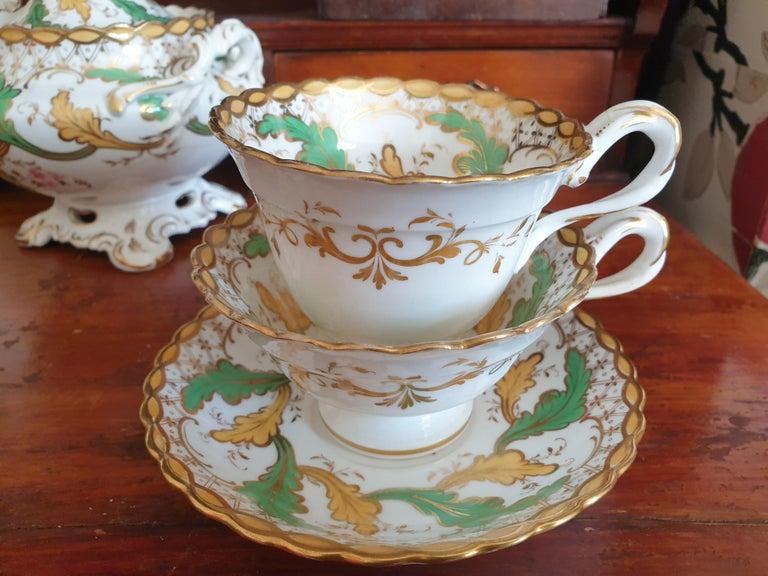 Porcelain H & R Daniel Tea/Coffee Service For Sale