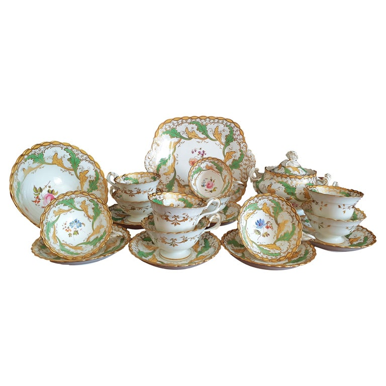 H & R Daniel Tea/Coffee Service For Sale