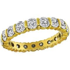 H Stern 2.20 Carat Diamond Eternity Wedding Band