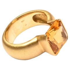 H. Stern Citrine Ring