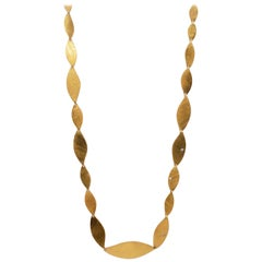 H. Stern Diamond and Gold Necklace