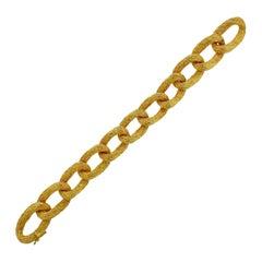 H. Stern Gold Link Bracelet