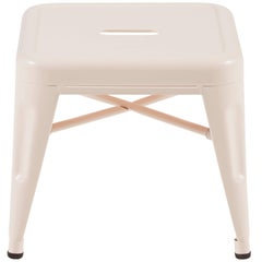 H Stool 30 in Tendance Powder Pink by Chantal Andriot and Tolix