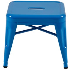 H Stool 30 in Tendance Sky Blue by Chantal Andriot and Tolix