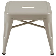 H Stool 30 in Tendance Warm Grey by Chantal Andriot and Tolix