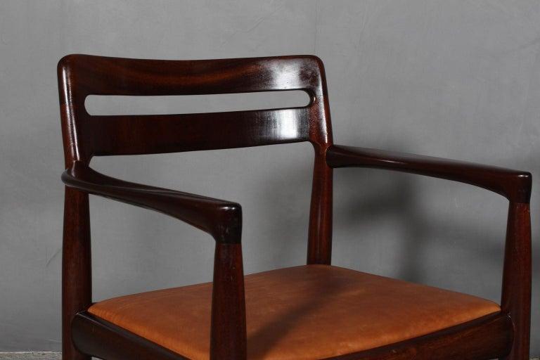 Scandinavian Modern H. W. Klein Set of Armchairs For Sale