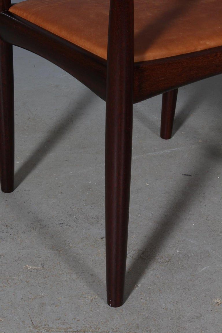 Danish H. W. Klein Set of Armchairs For Sale