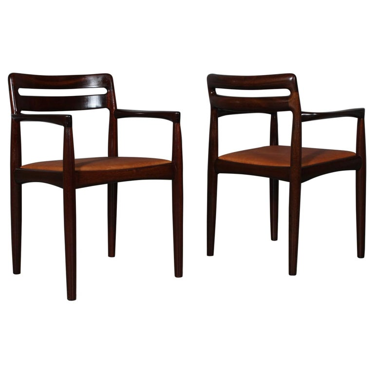 H. W. Klein Set of Armchairs For Sale