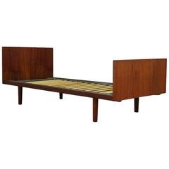 H. Wegner Bed Vintage Teak Danish Design