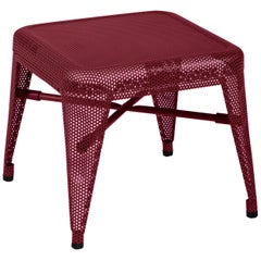 H30 Perforated Steel Stool in Pop Colors by Tolix