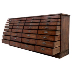 Haberdashery Bank of Drawers