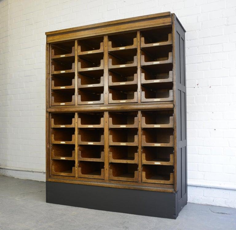 Haberdashery Cabinet by E Pollard & Co, circa 1910 For Sale 4