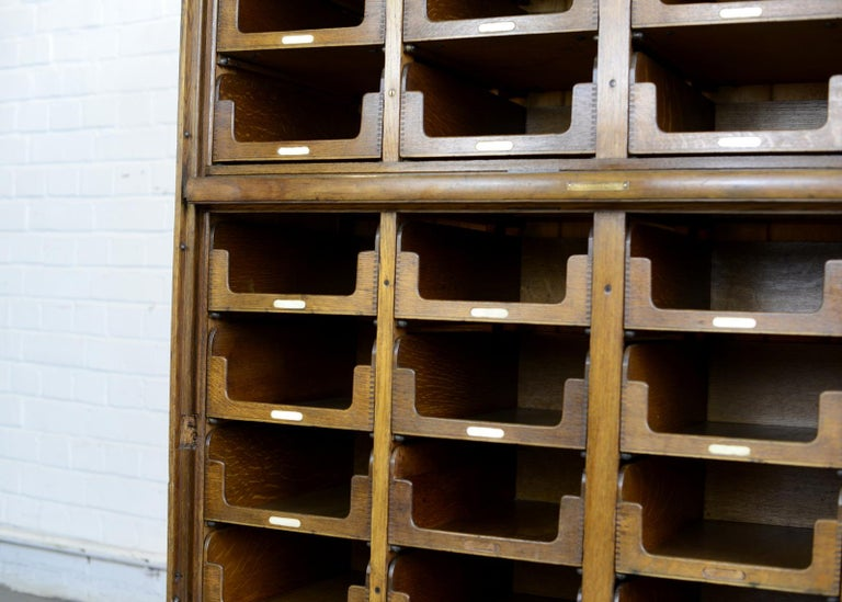 Haberdashery Cabinet by E Pollard & Co, circa 1910 For Sale 3