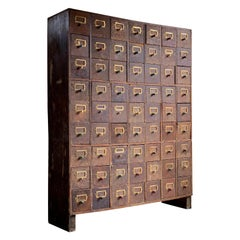 Haberdashery Chest of Drawers Industrial Loft Style Engineers Drawers circa 1940