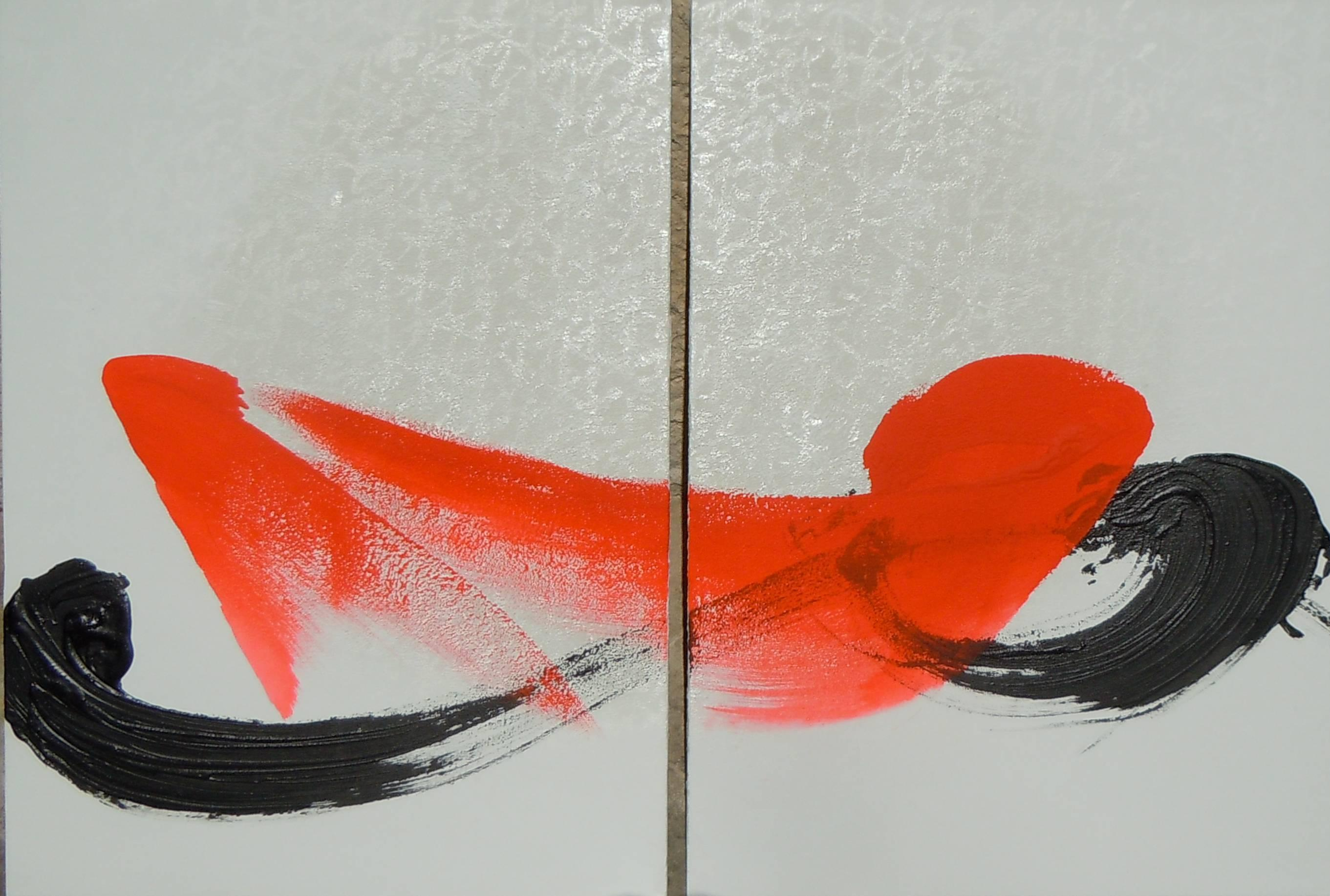 TN 647 D (Abstract Japanese Calligraphy)