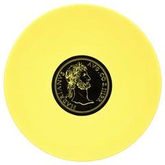 Hadrianus Plate, Roman Emperors, by P. Fornasetti, 1960s