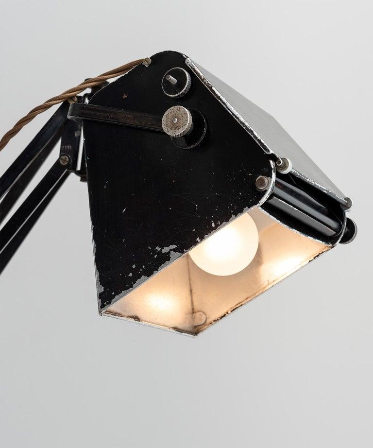 English Hadrill & Horstman Work Lamp For Sale