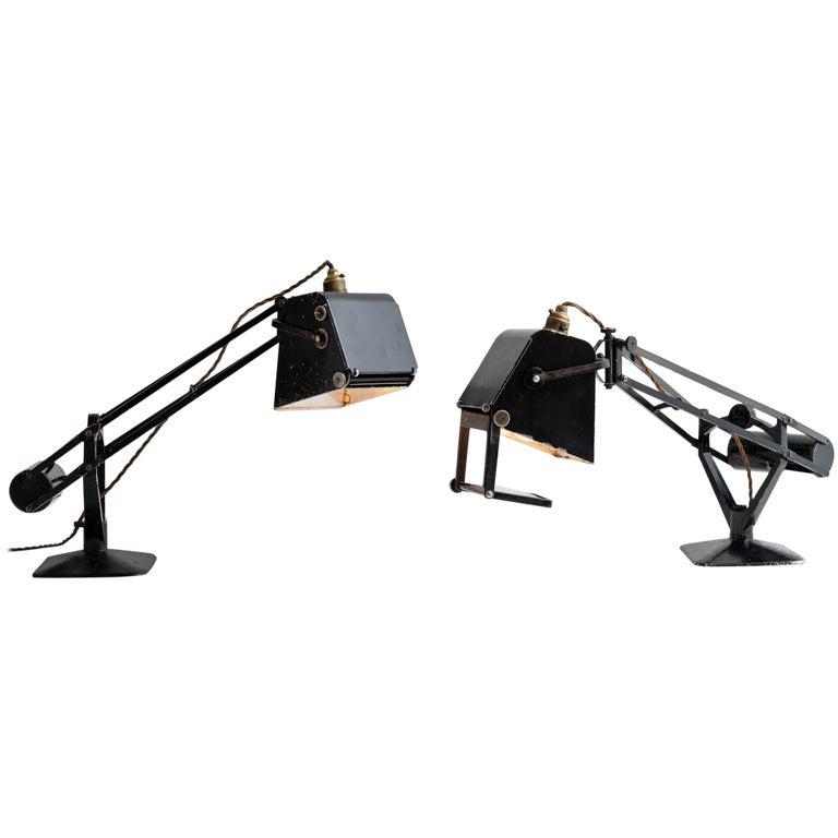 Hadrill & Horstman Work Lamp For Sale