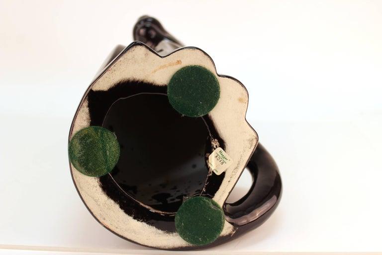 Haeger Art Deco Style Ceramic Black Panther For Sale 3