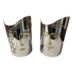 Hagenauer Male and Female Wall Masks