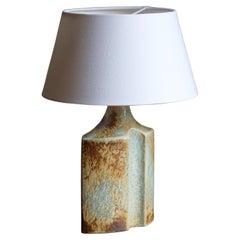 Haico Nietzsche, Table Lamp, Glazed Stoneware, Søholm, Denmark, 1960s