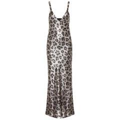 Haider Ackermann Andomeda Leopard-Print Maxi Dress
