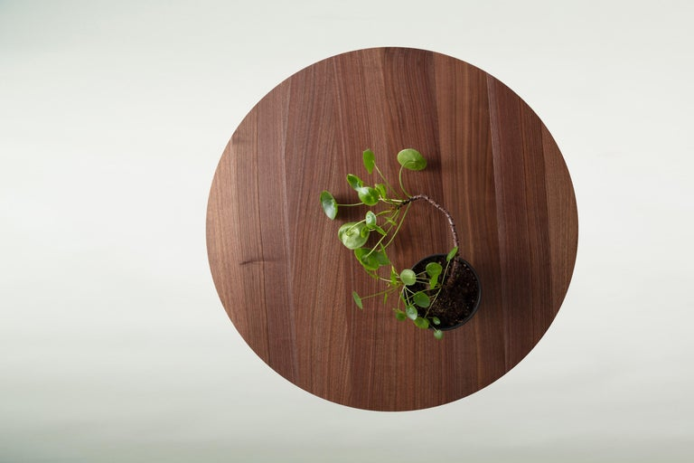 Hardwood Hairpin Dining Table, Solid Wood, Made to Measure Shapes & Size, Handmade in USA For Sale