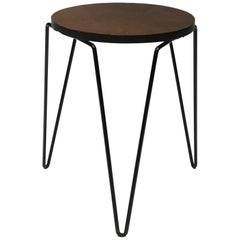 Hairpin Side Table in the style of Florence Knoll