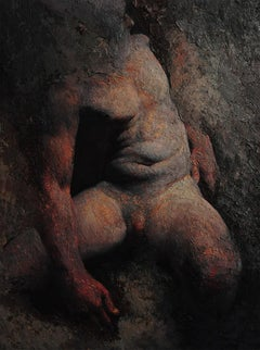 "NUDE Painting realism ""Origin of Dawn"""