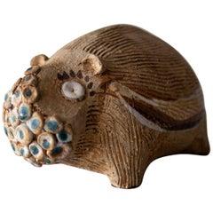 Hal Fromhold California Studio Ceramic Hippo, 1960s