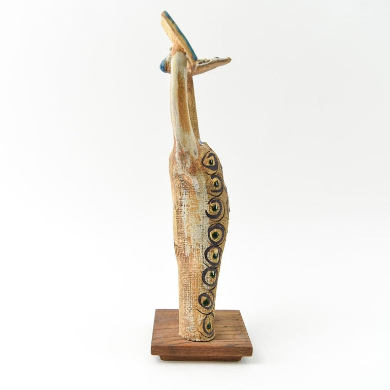 Hal Fromhold Midcentury Studio Ceramic Sculpture For Sale 4