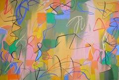 Aeolian, Painting, Acrylic on Canvas