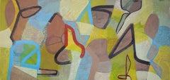 Mark My Words, Painting, Acrylic on Canvas