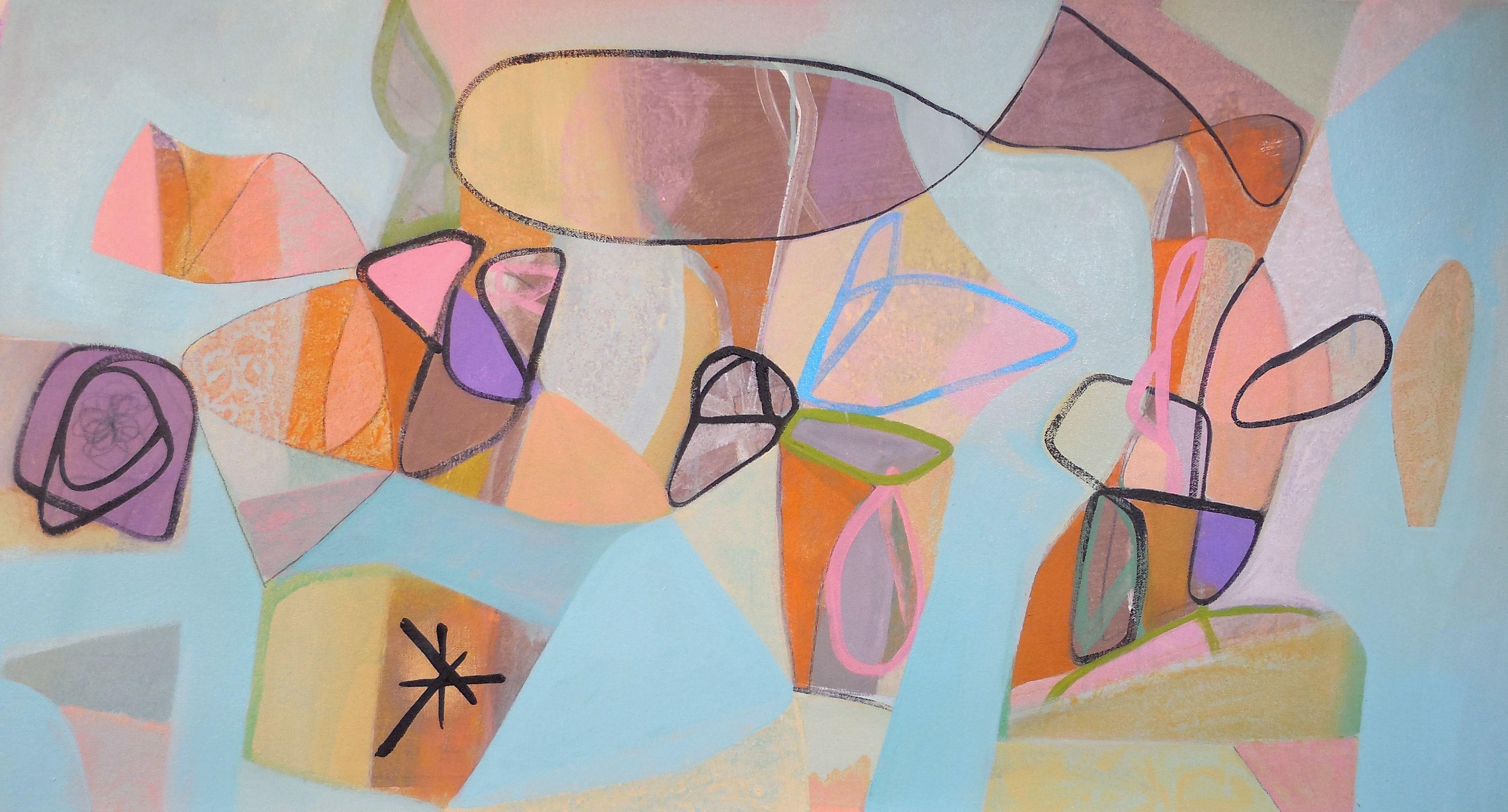 Patio, Painting, Acrylic on Canvas