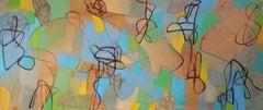 Spaghetti Western, Painting, Acrylic on Canvas