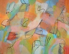 Tangerine, Painting, Acrylic on Canvas