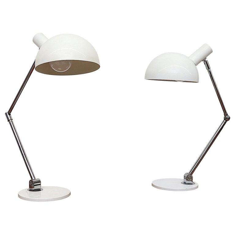 Vintage Dutch desk lamp by Hala Zeist 1970s *Mid-Century*