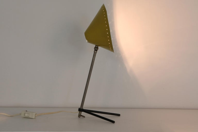 Dutch modern lamp, Hala, Netherlands, 1950s