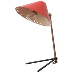 Hala Zeist Red Enameled Pinocchio Table or Wall Lamp