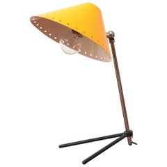 Hala Zeist Yellow Enameled Pinocchio Table or Wall Lamp