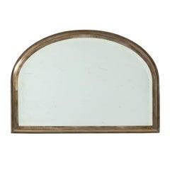 Half-Round Mirror by Brassfitters, circa 1900