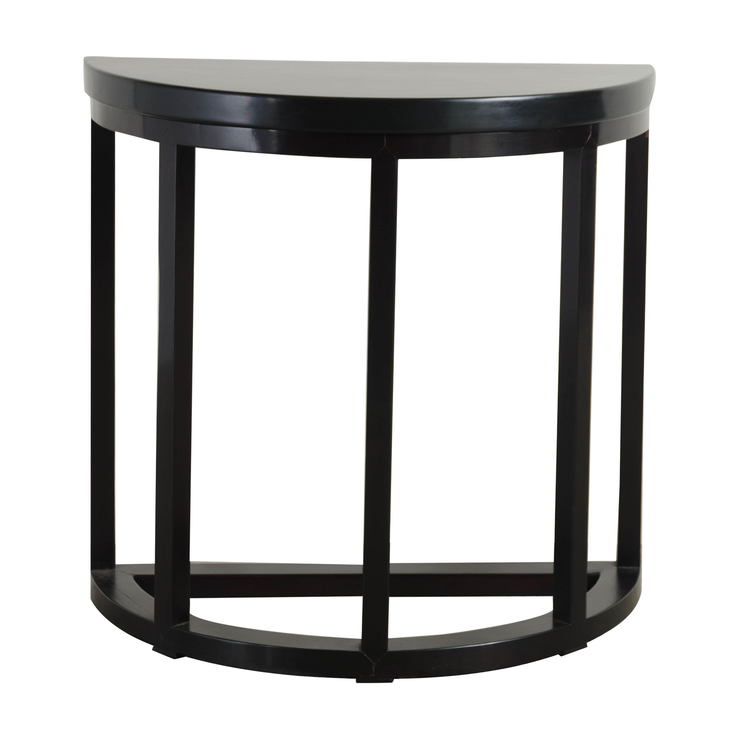 New And Custom Demi-lune Tables