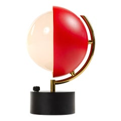 Half Sphere Table Lamp by Angelo Lelli for Arredoluce