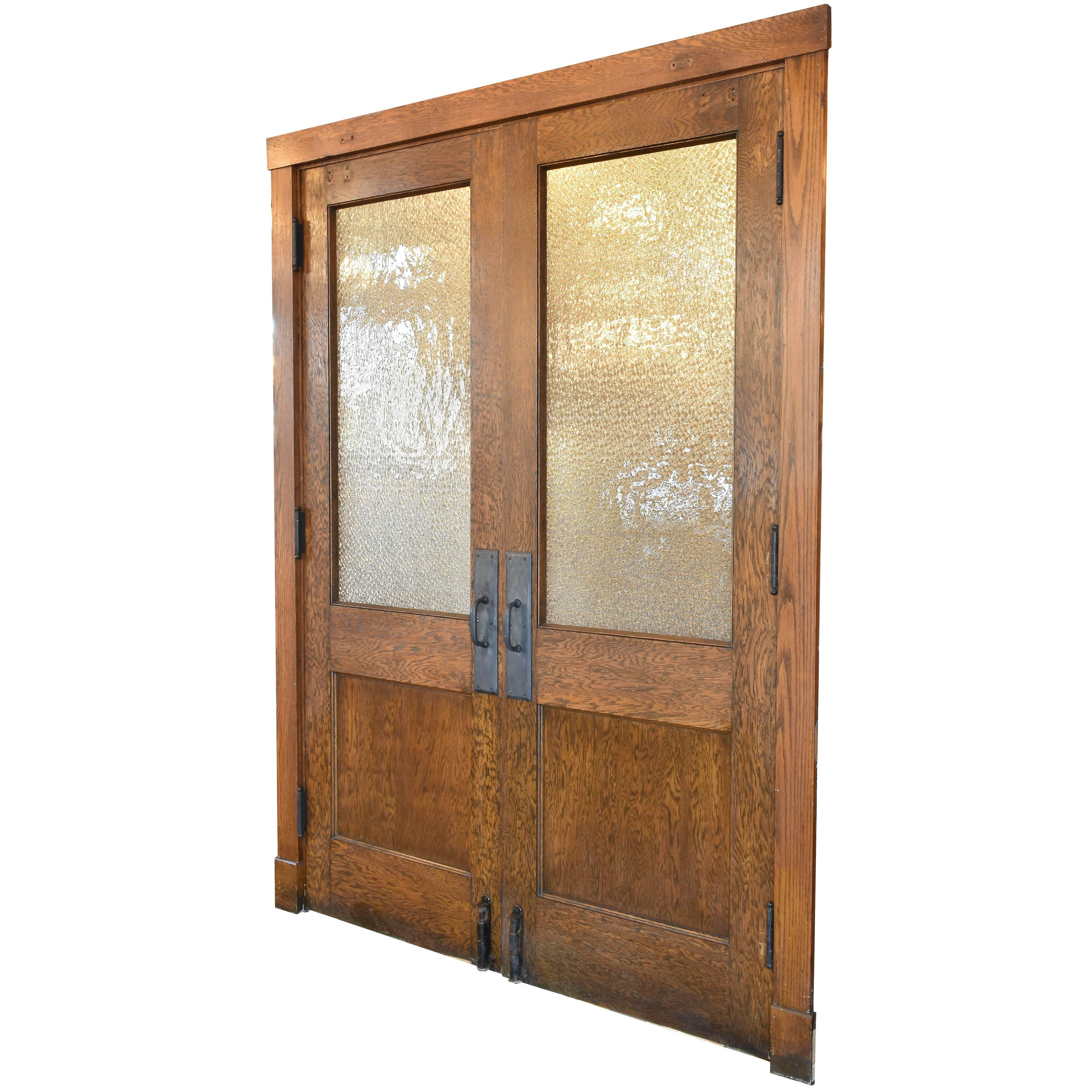 Half View Oak Double Doors  sc 1 st  1stDibs & Antique and Vintage Doors and Gates - 1118 For Sale at 1stdibs