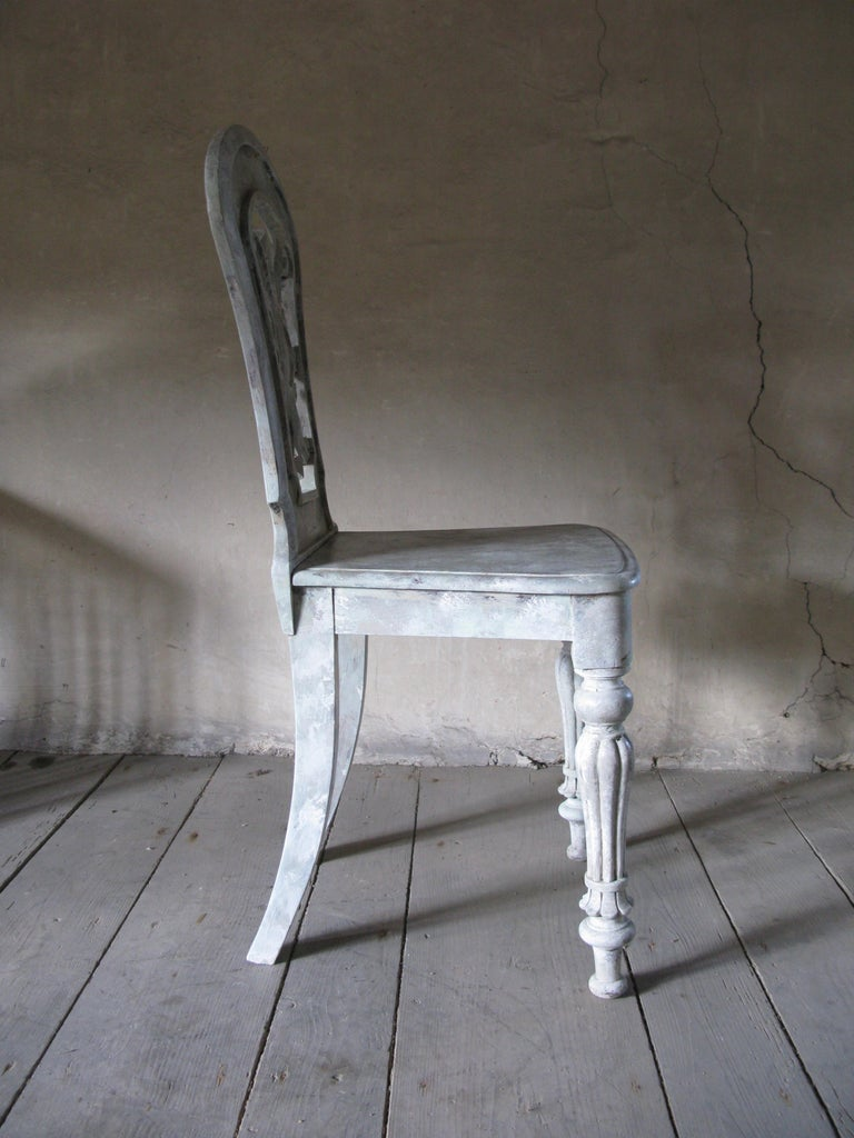 British Hall Chair, Side Chair, Decorative Chair For Sale