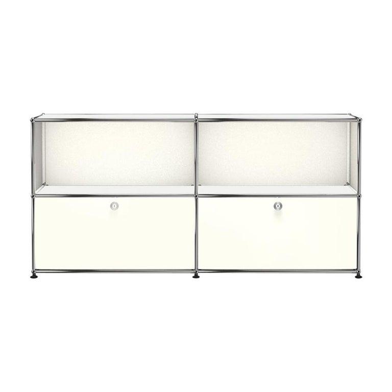 For Sale: White (Pure White) USM Haller Credenza C2A Storage System