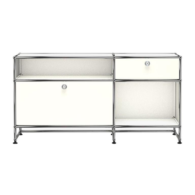For Sale: White (Pure White) USM Haller Media O3 Storage System